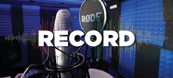 Play and record your own music in our WhisperRoom Sound Studio.