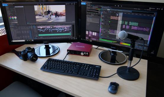 Media Computer Workstation